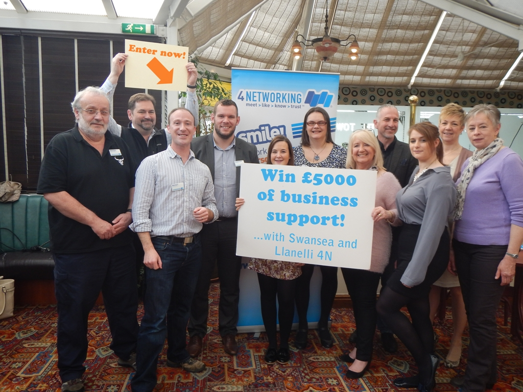 swansea business networking club 4n launches a competition to win £5000